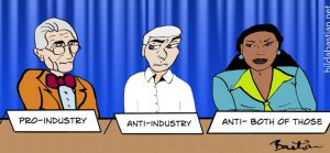 Anti-Industry Pro Industry Bias