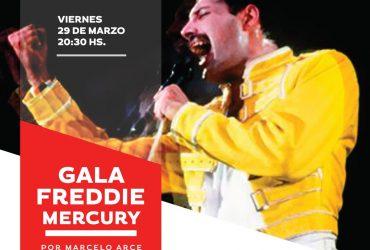 Gala Freddie Mercury con Marcelo Arce