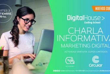Charla Informativa Digital House IV – Marketing Digital