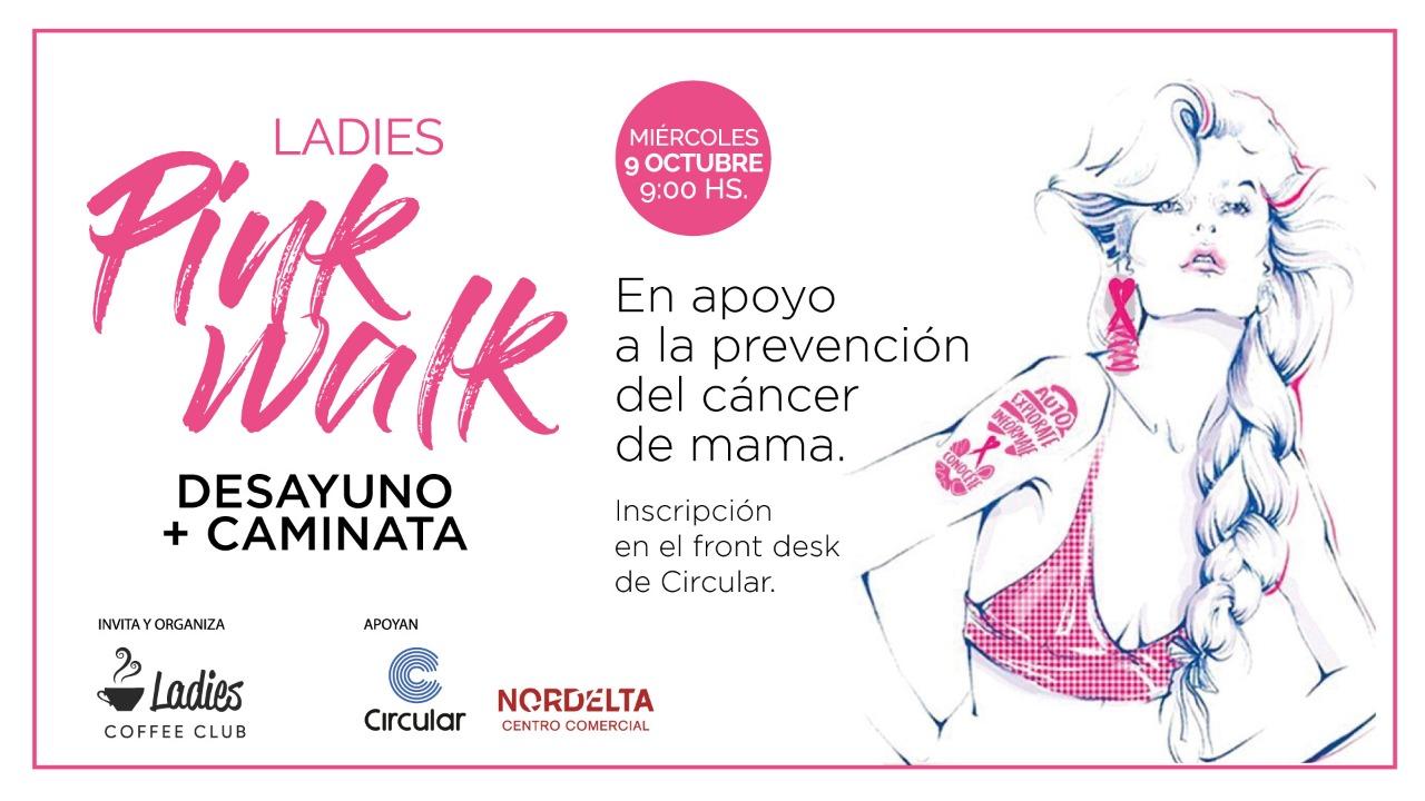 Caminata Solidaria Ladies Coffee Club Circular Nordelta Centro Comercial