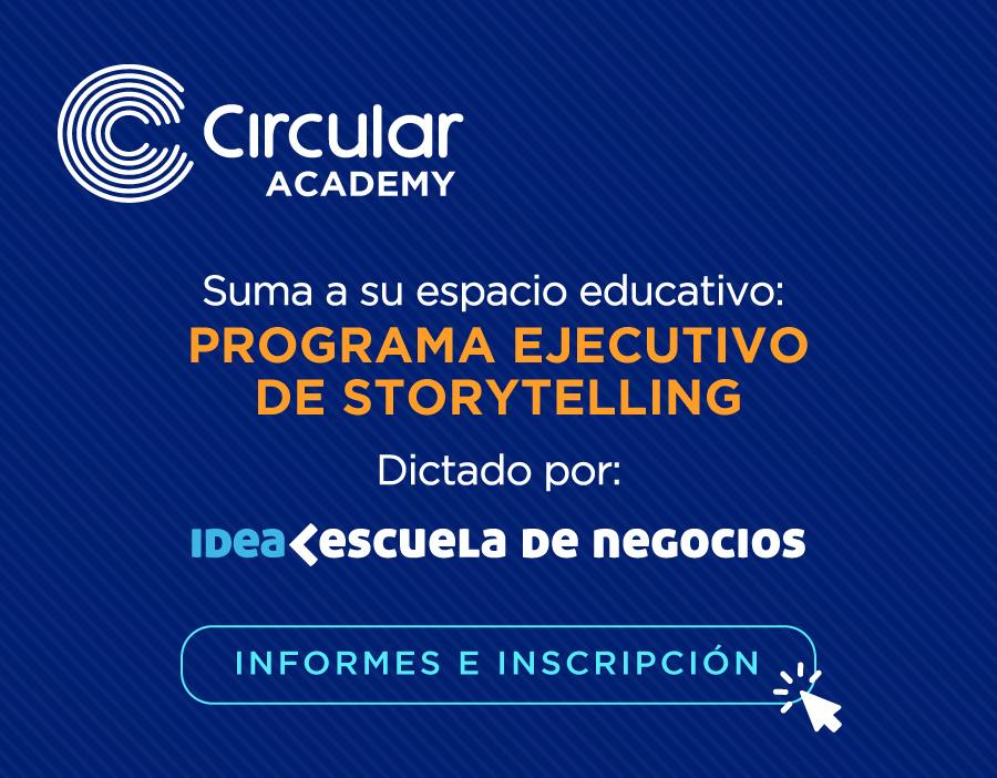 programa ejecutivo de storytelling IDEA en Circular Cowork nordelta